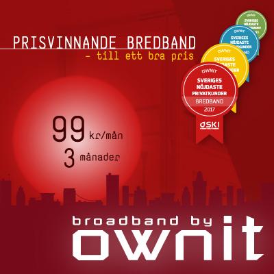 bredband fiber bäst i test ownit