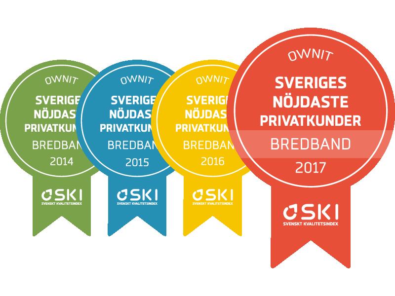 bästa fiberleverantören 2016
